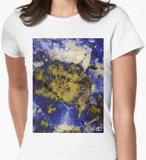 Digital Tie-Dye Three Women's Fitted T-Shirt