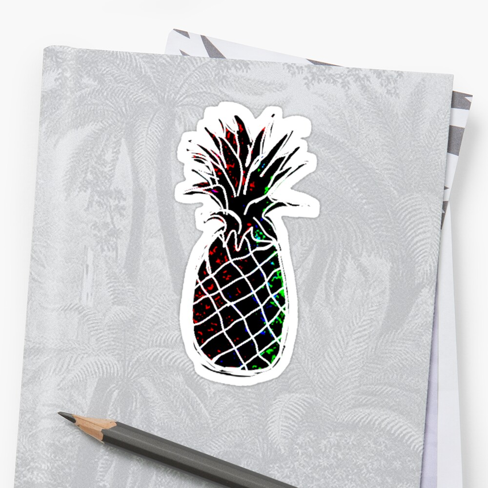 black pineapple  by carlac
