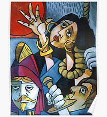 Esmeralda Being Hung Poster