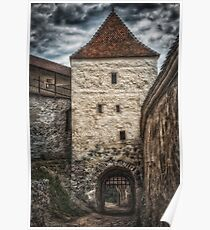 Fortress Rasnov Poster