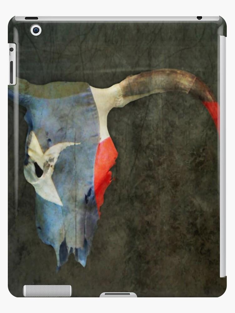 Longhorn iPad Case by SuddenJim