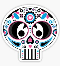 Mexican 'Day of the Dead' Skull  Sticker