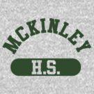 McKinley High School athletic wear by dopefish