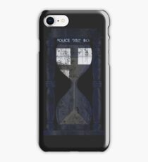 The Tardis Time Lord Timer iPhone Case/Skin