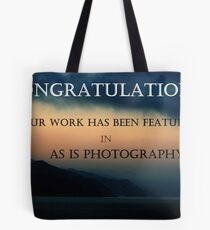 Featured In As Is Photography Tote Bag