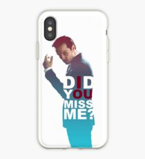 Moriarty - Did you miss me? iPhone Case