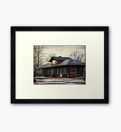 Wurtsboro Railway Station Framed Print