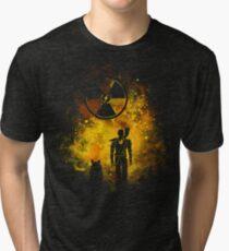 Wasteland Art Tri-blend T-Shirt