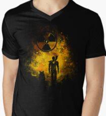 Wasteland Art Men's V-Neck T-Shirt