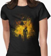 Wasteland Art Women's Fitted T-Shirt