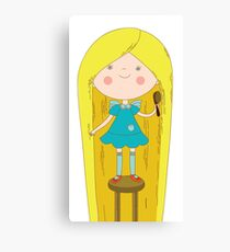 Girl Canvas Print