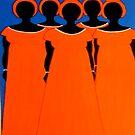 Phone Case 2 - Caribbean Orange by Shulie1
