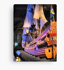 "The Vasa""  ( 4 ) A Scale Model Canvas Print"