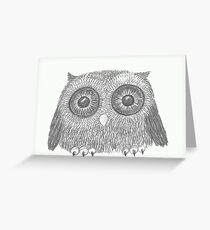 Awe Owl Greeting Card