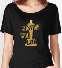 Justice For Leo Women's Relaxed Fit T-Shirt