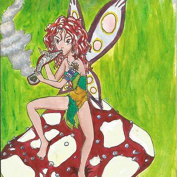 Fire Fairy by FreakInkComics