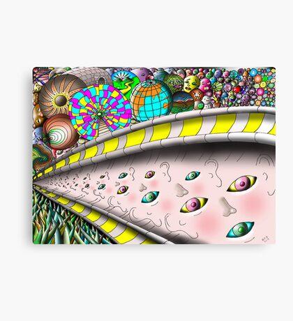 Eye Ball Composition Canvas Print