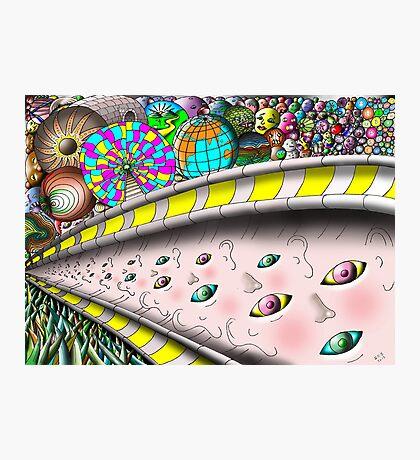 Eye Ball Composition Photographic Print