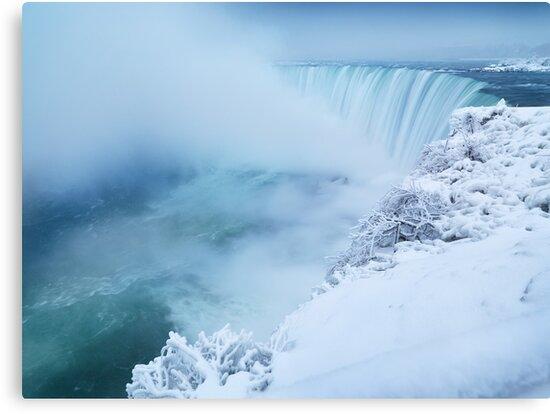 Niagara Falls in Winter art photo print by ArtNudePhotos