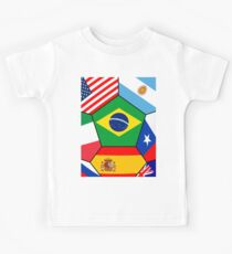 various flags - Brazil 2014 Kids Clothes
