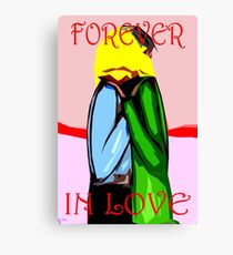 FOREVER IN LOVE Canvas Print