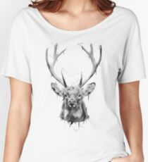 DARK DEER Women's Relaxed Fit T-Shirt