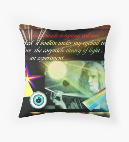 Newton's Kind of Science Project Throw Pillow