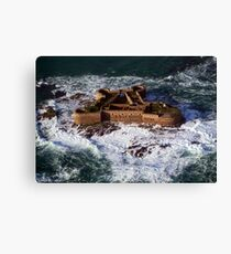 Huge Seas Canvas Print