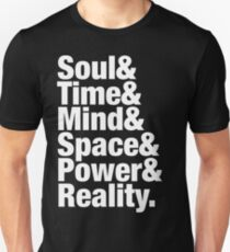 Infinity Gems - Soul& Time& Mind& Space& Power& Reality. T-Shirt