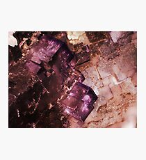 Asteroid City (Fluorite) Photographic Print