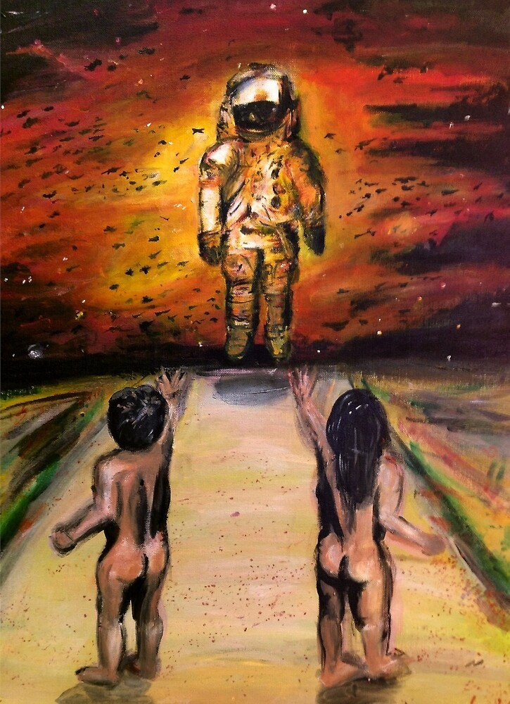 First Contact by LouisNavas-Art