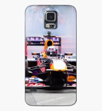 Daniel Ricciardo's F1 lights up the streets of Perth city in his Redbull race car Case/Skin for Samsung Galaxy
