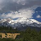 Mountain and Sky by Barbara  Brown
