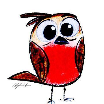Wee Apprehensive Bird by philipvallentin