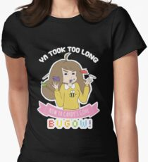 Bugow!  Women's Fitted T-Shirt