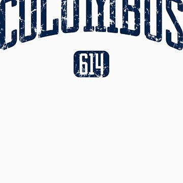 Columbus 614 (Navy Print) by smashtransit