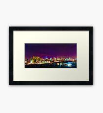 Sky line From Detroit Eastern Market  Framed Print