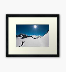 walking on the Giant Framed Print