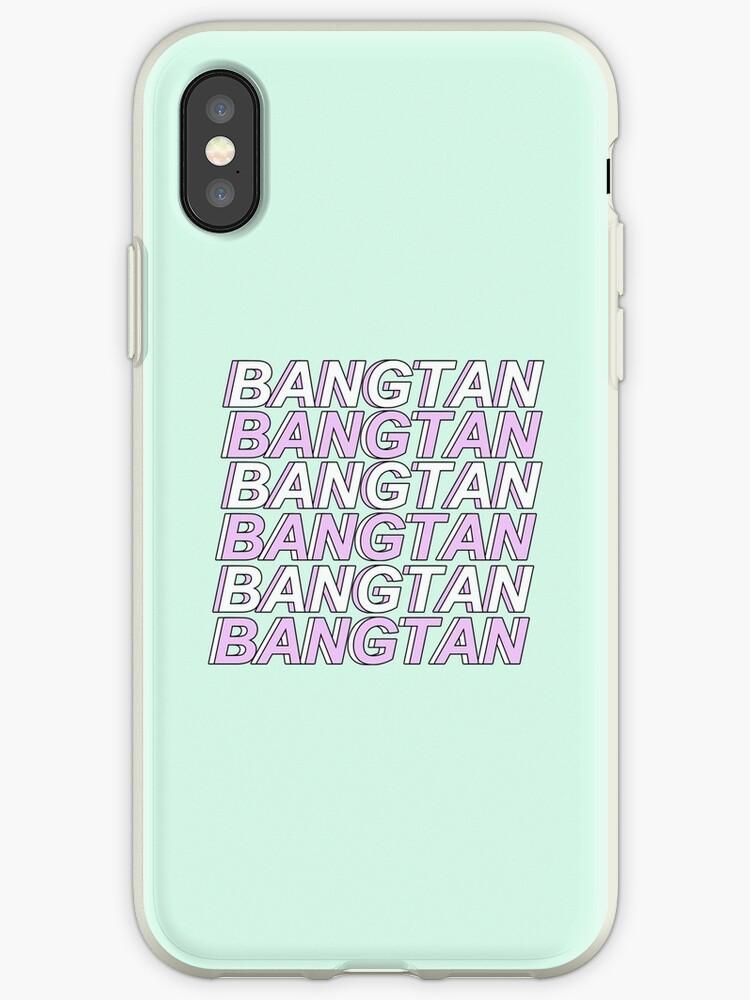 PASTEL BANGTAN PHONE CASE by hallyuchild