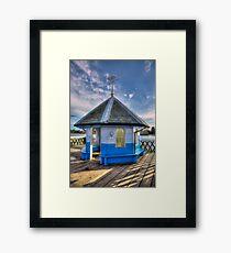 Yarmouth Pier Rotunda Framed Print