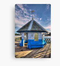 Yarmouth Pier Rotunda Canvas Print