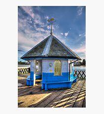 Yarmouth Pier Rotunda Photographic Print
