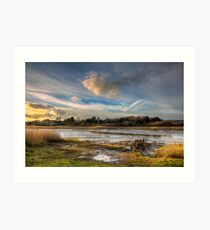Over The Yar To Freshwater Art Print