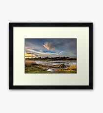 Over The Yar To Freshwater Framed Print