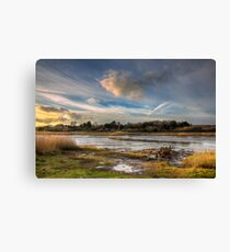Over The Yar To Freshwater Canvas Print
