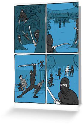 Ninja Way by Jaume Pallardó