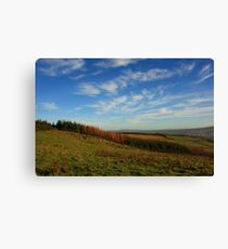 On Croaghan Hill Canvas Print