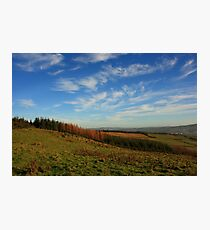 On Croaghan Hill Photographic Print