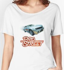"""""""STREET PRO"""" Designer tees and stickers Women's Relaxed Fit T-Shirt"""