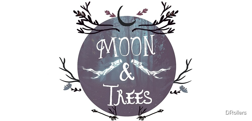 Moon $ Trees by DRollers